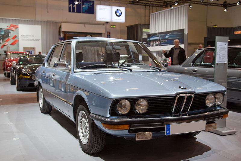 BMW 518 (Modell E12) von Christian Hagebusch (5er E12 und E18 IG) auf der Techno Classica 2012 in Essen