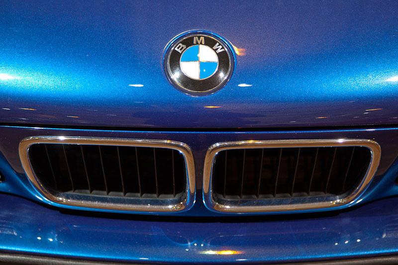 BMW 540i touring (Modell E34), BMW Niere und BMW Logo