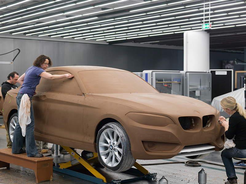 BMW 2er Coupé, Designprozess, Clay-Modell