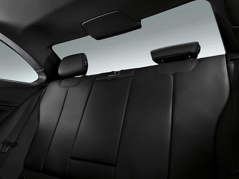 BMW 2er Coupé, Interieur, Sitze im Fond