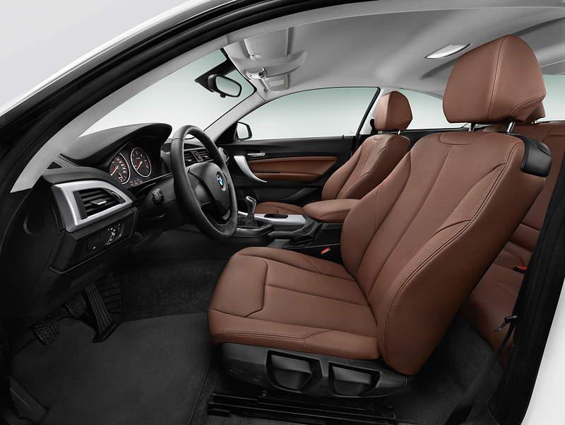 BMW 2er Coupé, Interieur, Sitze vorne