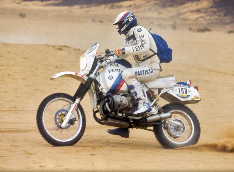 Hubert Auriol auf BMW, Rallye Paris-Dakar 1984