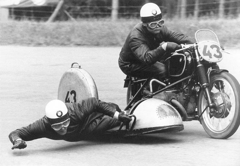 BMW Gespann mit Wilhelm Noll/Fritz Crohn, 1953