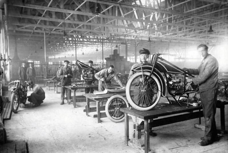 Produktion BMW R 32, 1923