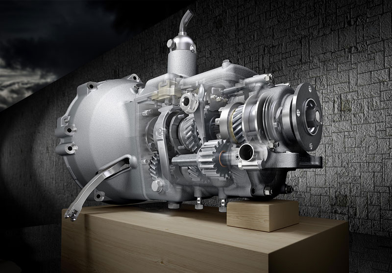 Getriebe-Nachbau BMW 328