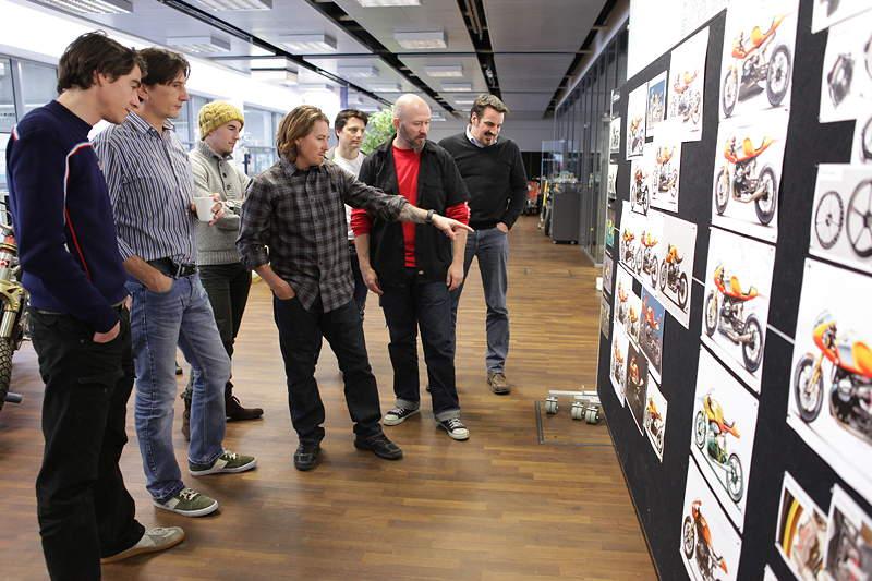 BMW Motorrad. Concept Ninety. Designprozess.BMW Motorrad. Concept Ninety. Designprozess.
