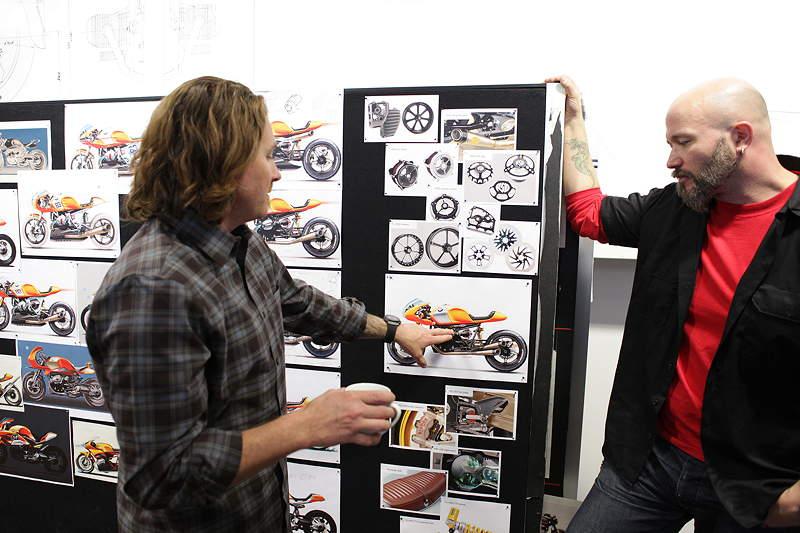 BMW Motorrad. Concept Ninety. Designprozess.