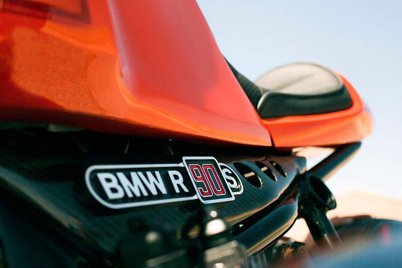 BMW Motorrad. Concept Ninety. On location.
