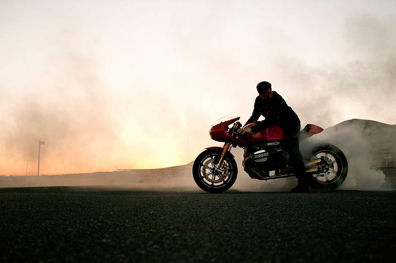 BMW Motorrad. Concept Ninety. On location.