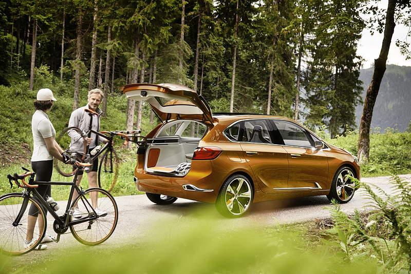 BMW Concept Active Tourer Outdoor.