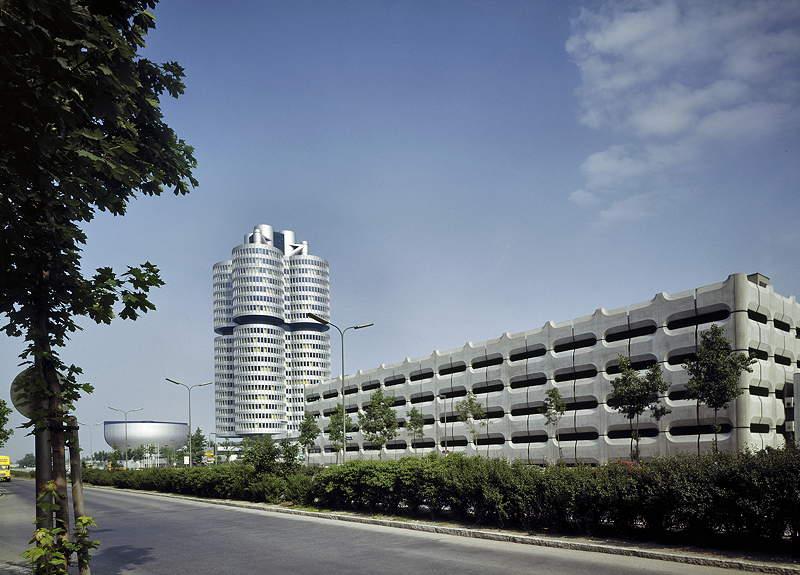 BMW Hochhaus und Museum