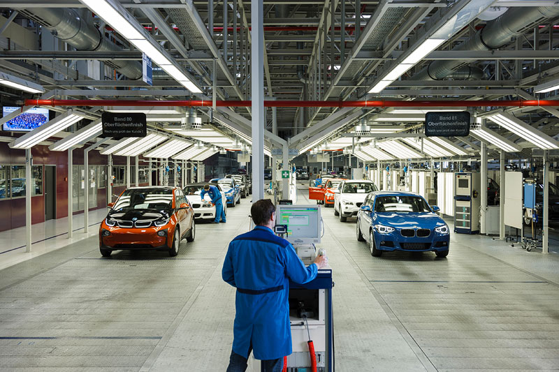 BMW i3 Produktion Werk Leipzig: Finish