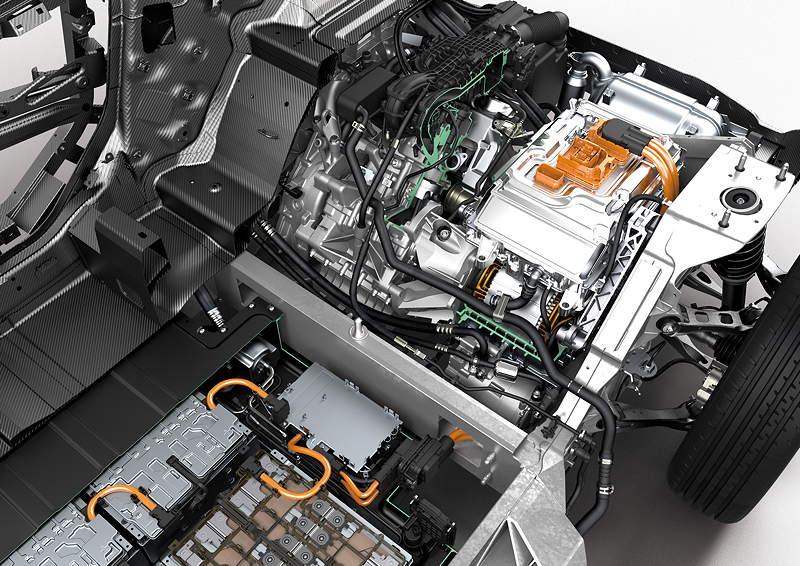 BMW i3, Querschnitt