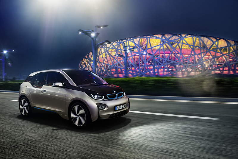 BMW i3 in der Megacity London