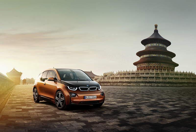 BMW i3 in Peking