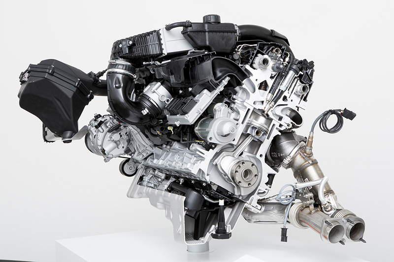 Der neue BMW M3/M4: Motor