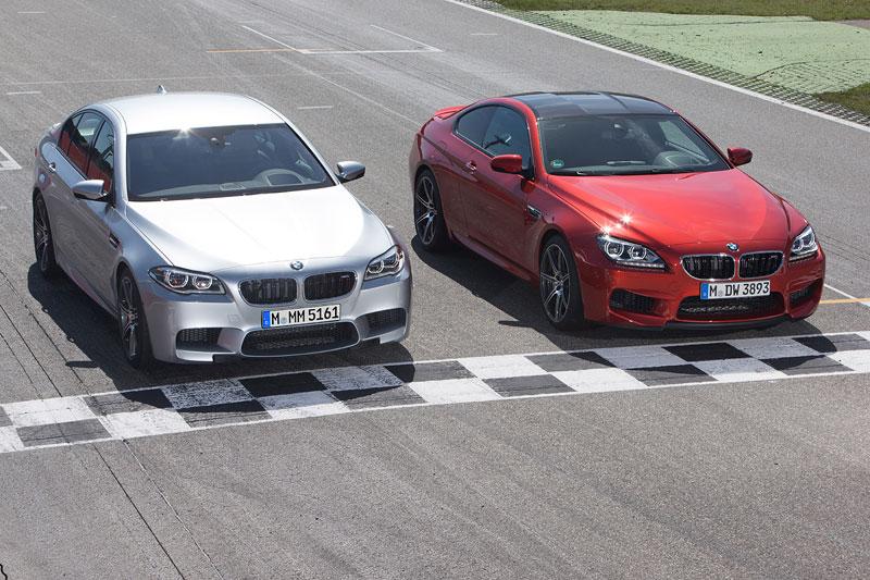 BMW M5 und BMW M6 mit dem neuen BMW Competition Paket