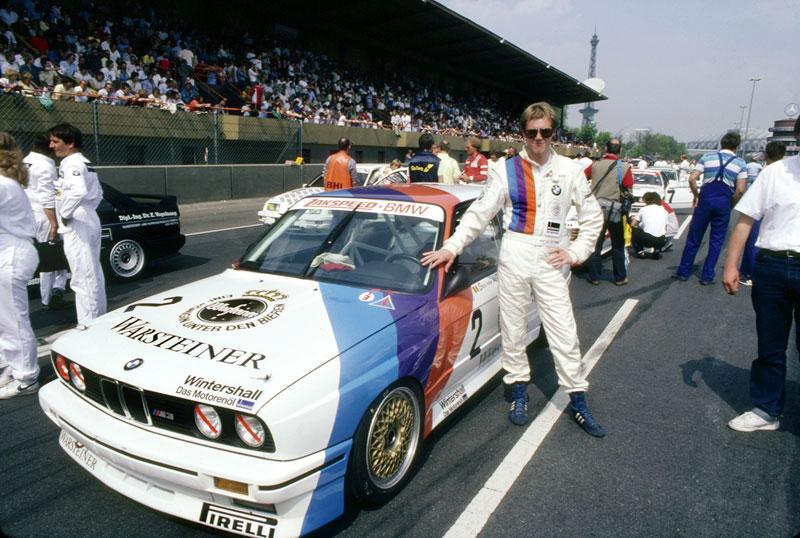 DTM 1987, Eric van de Poele im BMW M3, 4. Lauf Berlin