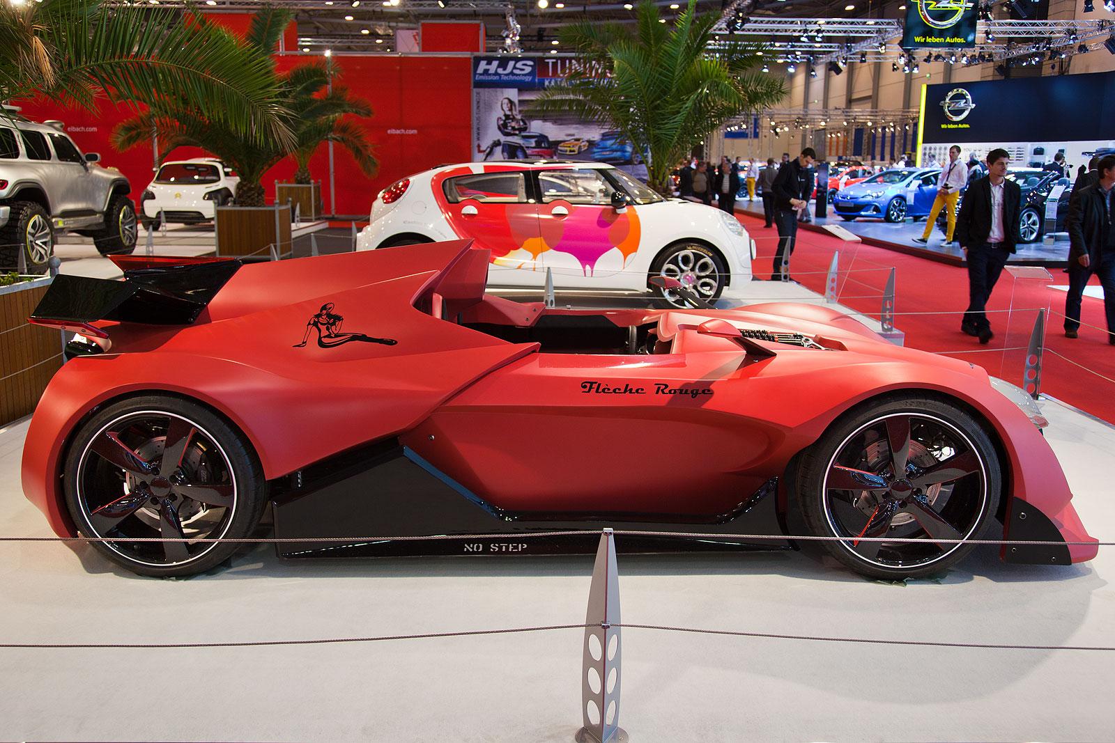 foto essen motor show 2013 sonderschau automobil design sbarro fl che rouge vergr ert. Black Bedroom Furniture Sets. Home Design Ideas