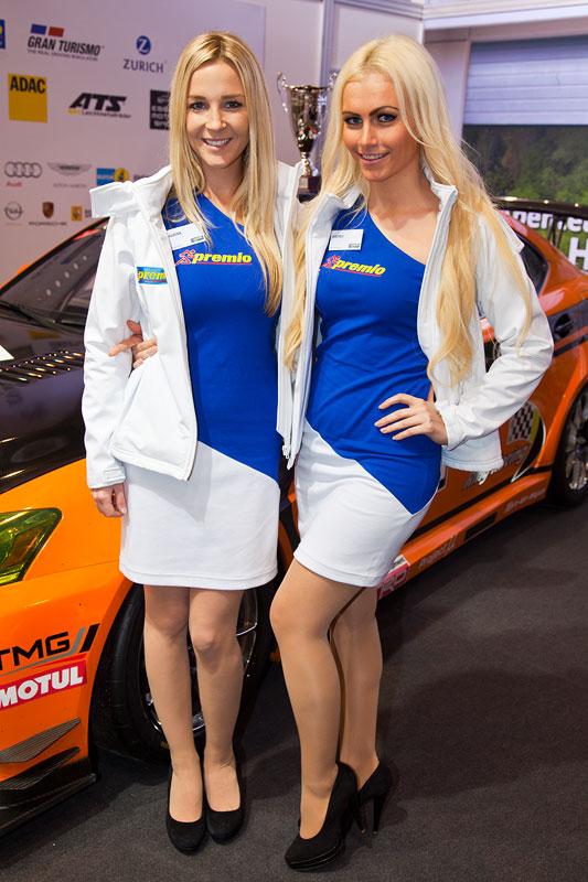 Essen Motor Show 2013: auf dem premio Reifen Stand