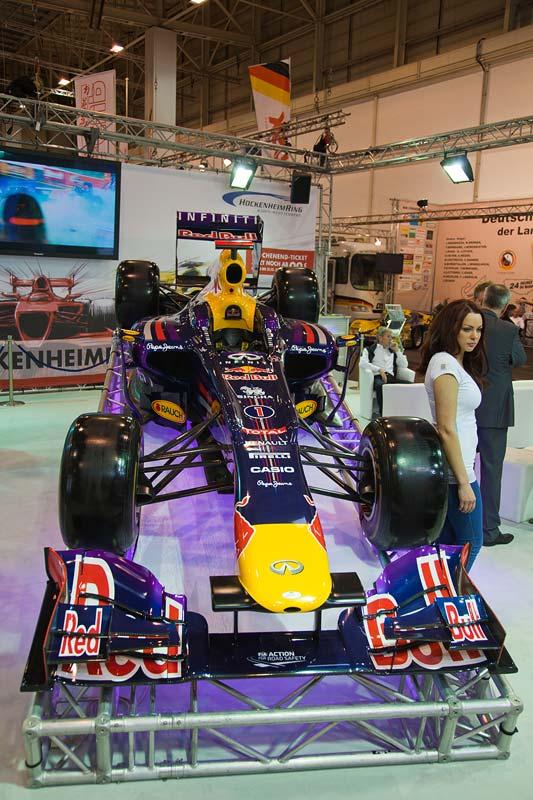 Red Bull Formel 1 Siegerauto