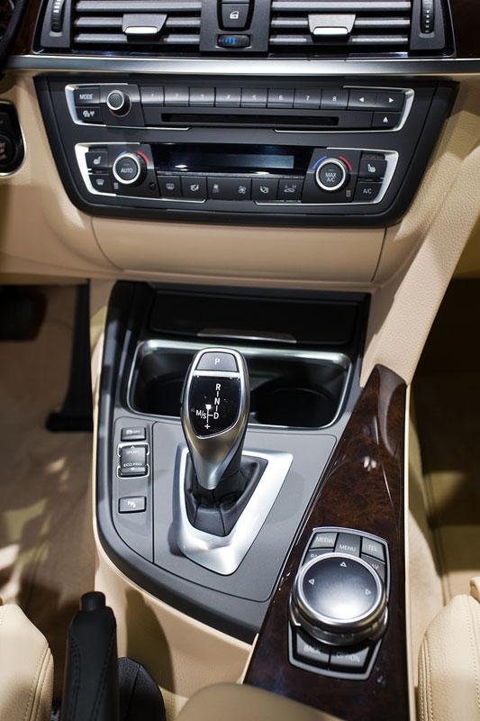BMW 328i xDrive Gran Turismo, Mittelkonsole
