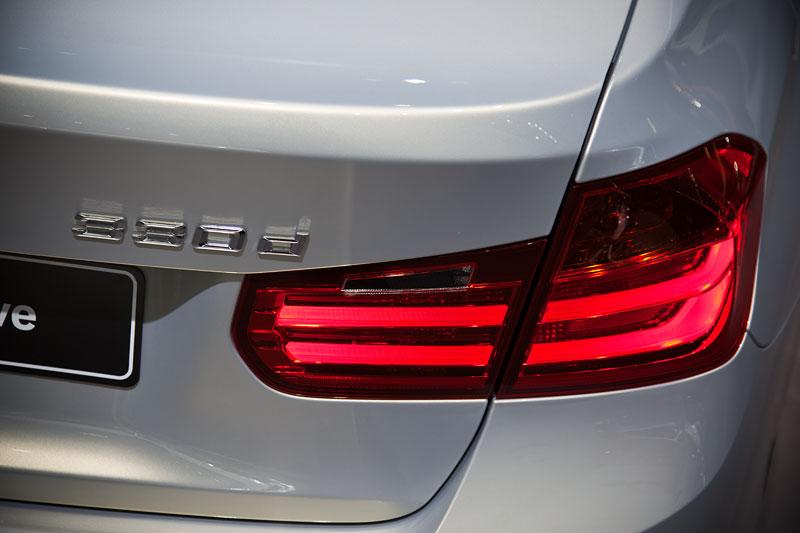 BMW 330d xDrive Individual, Typbezeichnung am Heck