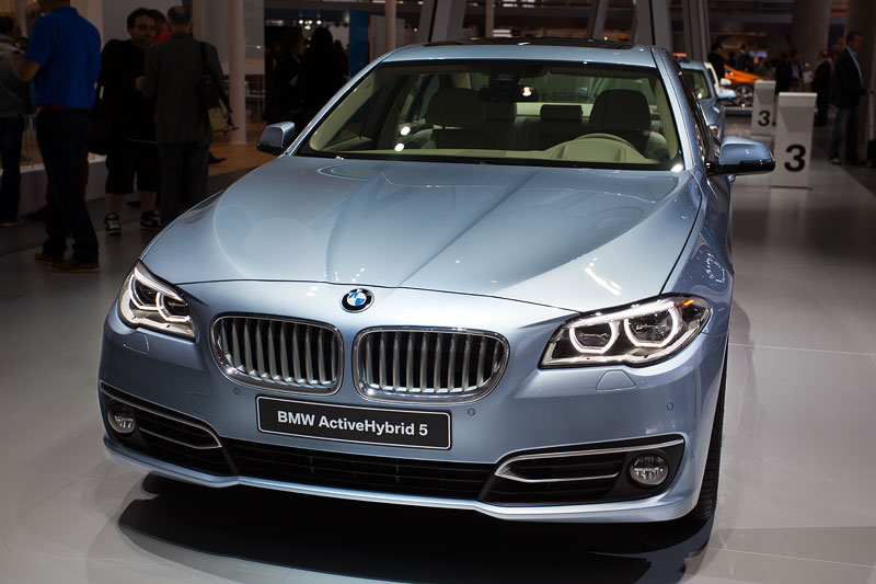 BMW ActiveHybrid 5, Faceliftmodell