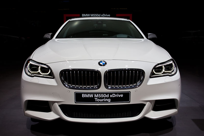 BMW M550d xDrive Touring, Faceliftmodell