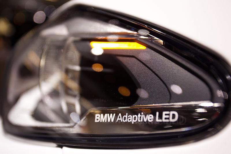 BMW M550d xDrive Touring, adaptiver LED Scheinwerfer