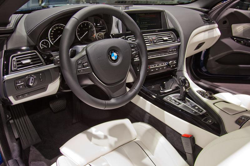 BMW 640i Cabrio, Cockpit
