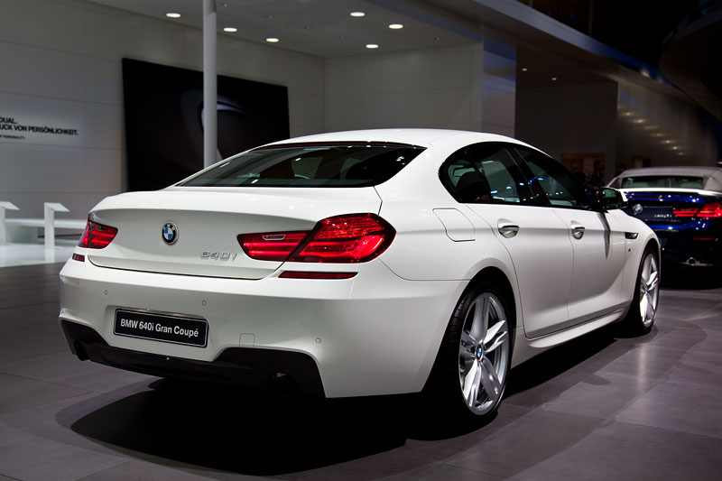 BMW 640i Gran Coupe mit BMW M Sportpaket