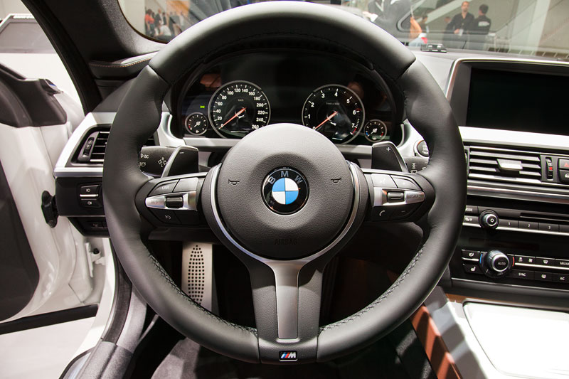 BMW 640i Gran Coupe, BMW M Lenkrad