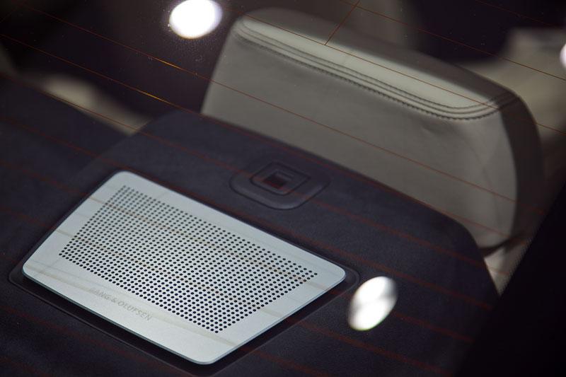 BMW 650i xDrive Individual, Bang und Olufsen Lautsprecher im Fond