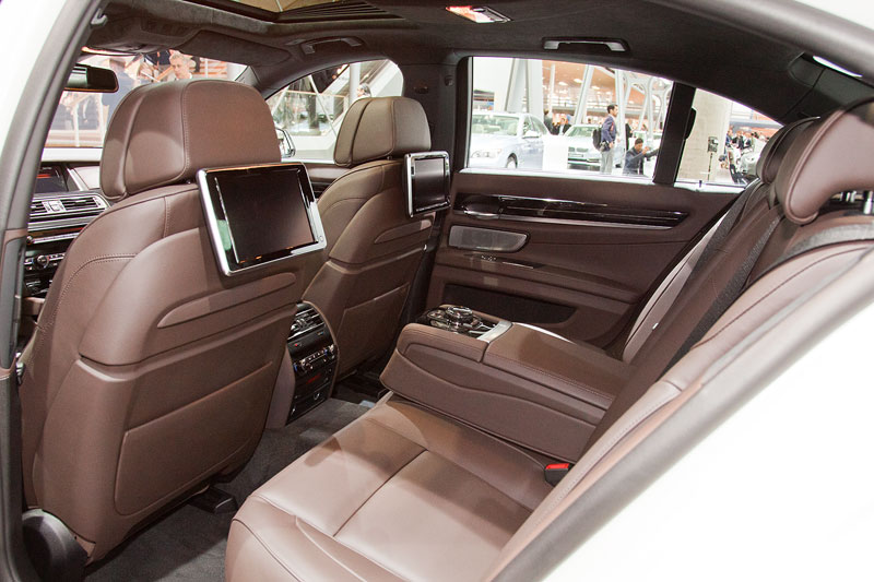 BMW 750i Individual mit Fond Entertainment System