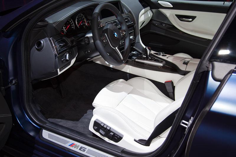 BMW M6 Gran Coupe, Interieur