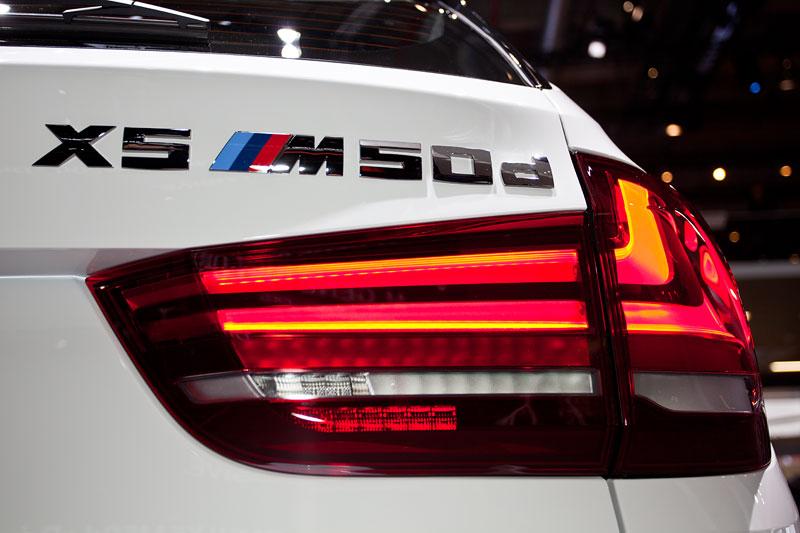 BMW X5 M50d, Typbezeichnung am Heck