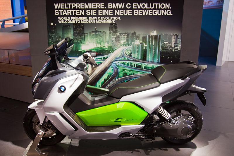 BMW C evolution - Weltpremiere auf der IAA 2013
