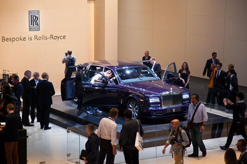 Rolls-Royce Celestial Phantom auf der IAA 2013
