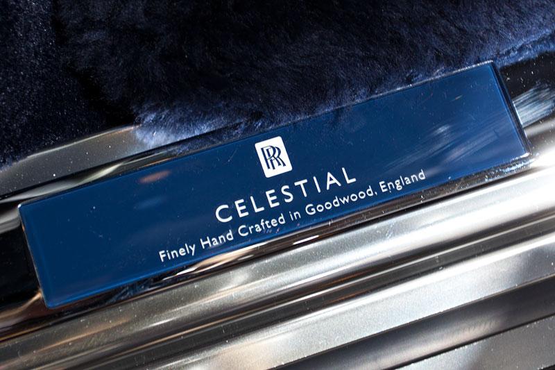 Rolls-Royce Celestial Phantom, Einstiegsleiste