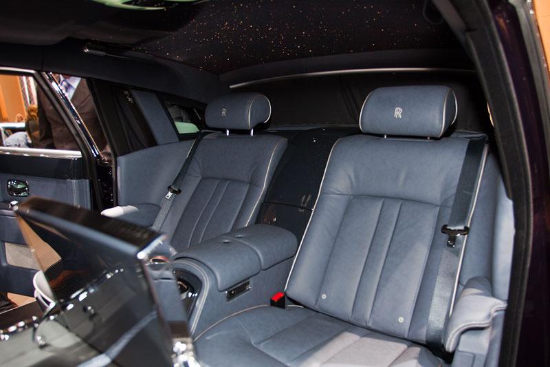 Rolls-Royce Celestial Phantom, Einzelsitze im Fond