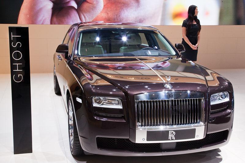 Rolls-Royce Ghost auf der IAA 2013