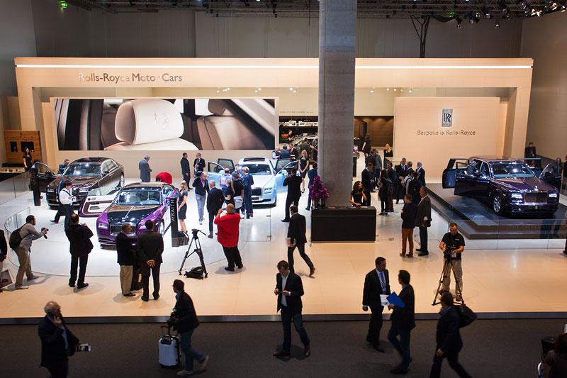 Rolls-Royce Stand auf der IAA 2013