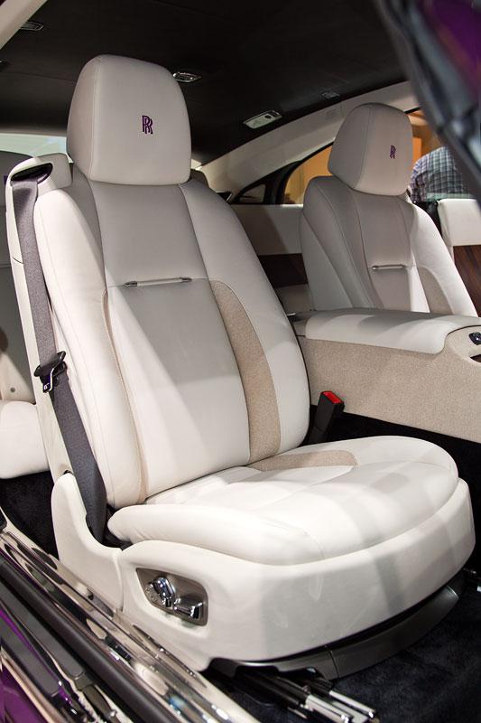 Rolls-Royce Wraith, Sitz vorne