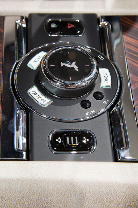 Rolls-Royce Wraith, iDrive Controller