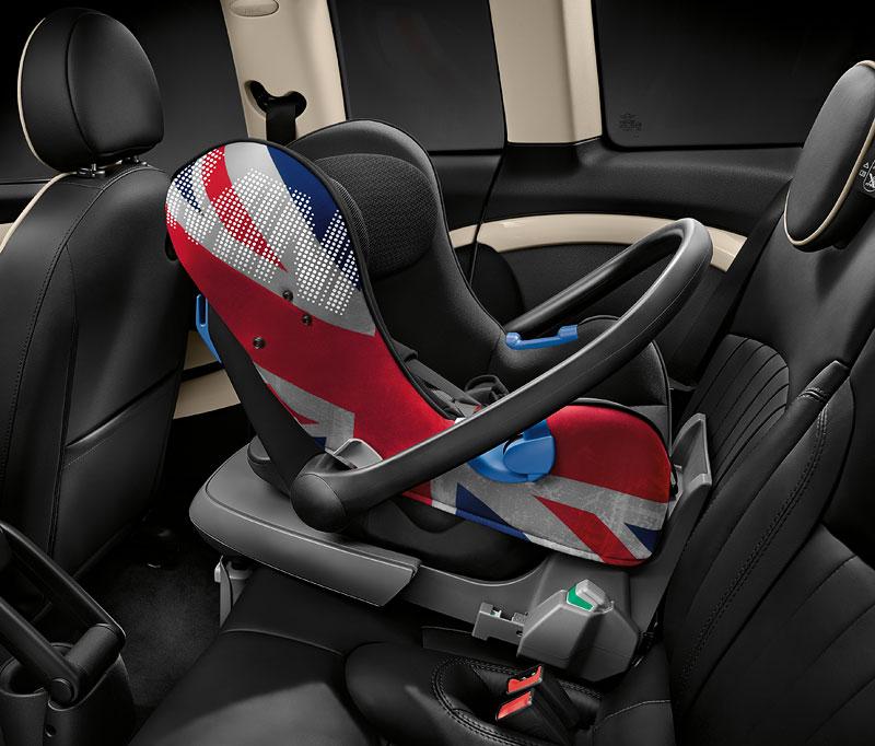 MINI Baby Seat 0+, Union Jack.