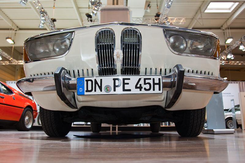 BMW 2000 CS, Leergewicht: 1.160 kg, vmax: 185 km/h