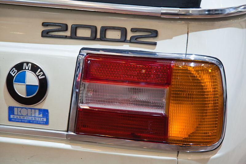 BMW 2002 turbo (E20), Typbezeichnung am Heck