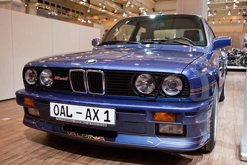 BMW Alpina B6 3.5 S (E30), ausgestellt von der BMW Alpina Gemeinschaft e.V., Besitzer: Reiner Witt ('Alpina0815'), Techno Classica 2013