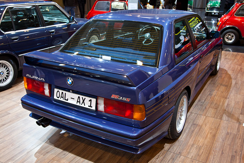 BMW Alpina B6 3.5 S (E30), mit 5-Gang Sportgetriebe